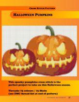Sew You August September pumpkins